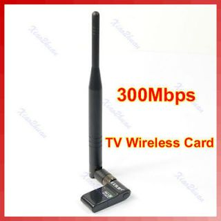 HD TV WiFi Wireless LAN Card Adapter IEEE802.11n/g/​b 300Mbps 2.4G