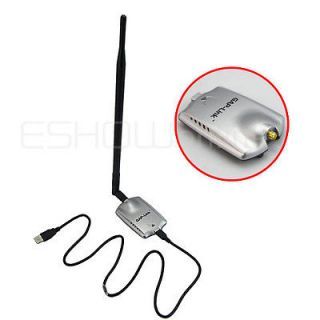 D2102D 54Mbps WiFi Wireless Network Card Adapter USB 2500mW 15dbi