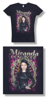 Miranda Cosgrove iCarly NEW JUNIORS / BABY DOLL T Shirt #1 VAR. SIZES