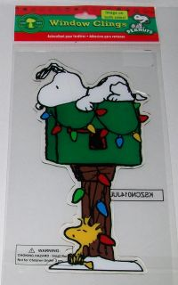 Peanuts Snoopy Woodstock Christmas Holiday Reusable Gel Jelz Gelz