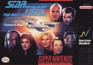 Star Trek The Next Generation    Futures Past Super Nintendo, 1993