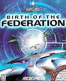 Star Trek The Next Generation Birth of the Federation PC, 1999