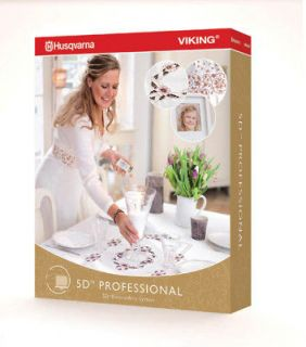 Newly listed Husqvarna 5D pro Suite Professional Embroidery Software