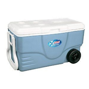 Quart Xtreme Wheeled Cooler Ice Chest Water Cooler Camping Picnic NEW