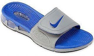 ... discount 002 nike air experience slide sandal cool grey bright blue  black mens 18eb7 28348 1d33d271e