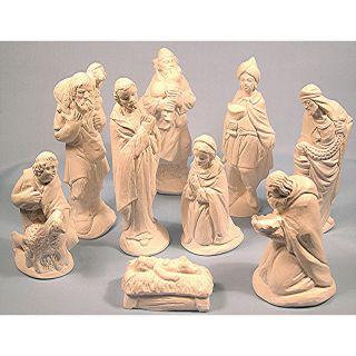 new 9 piece nativity set more options colour  20 77 buy it