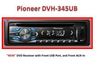 Pioneer DVH 345UB DIN Car stereo DVD player CD  USB ipod iphone