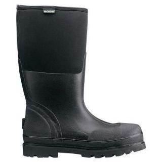 69172 bogs men s black rancher steel toe boots size