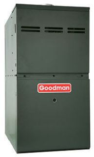 GOODMAN Low Nox 100,000 BTU NATURAL GAS FURNACE 80% GMS81005CXA