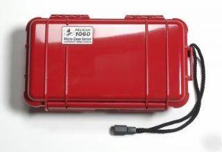 RED CAMERA CASE   Military Grade   Waterproof   Camping Kit   Phone