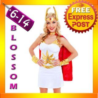 G14 She Ra MOTU He Man Master Of The Universe Fancy Halloween Ladies