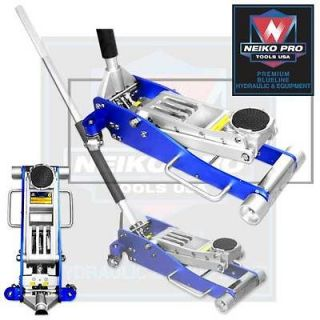 Ton Professional Low Profile Aluminum Hydraulic Shop Floor Jack