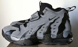 nike air dt max 96 dark grey black men diamond turf shoe deion sanders