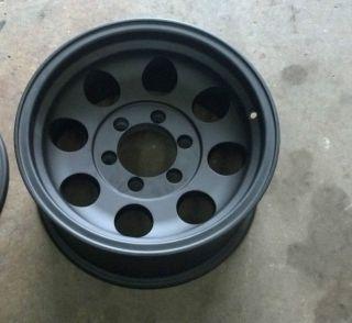16 Ultra 164 Black Wheel 16x8 1646883 6x5.5 6 lug Chevy Ultra Wheels