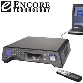 Encore Tech Cassette/Tape Converter/Recorder to SD, MMC, Thumb Drive