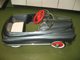1949 mercury comet pedal car torpedo restored rare pedal car