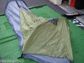 newly listed 1 person hicking bivy tent