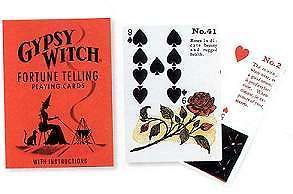 gypsy witch fortune telling playing cards time left $ 19