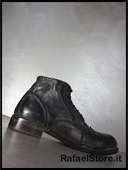 Shoes Ankle Boots 56202 AG Cusna Nero Leather Black New Collection