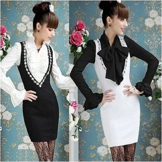 Boho Season New arrival V neck Sleeveless Black White Women Dresses