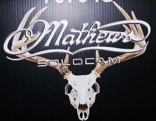 mathews european mount picture decal die cut 10 x 8