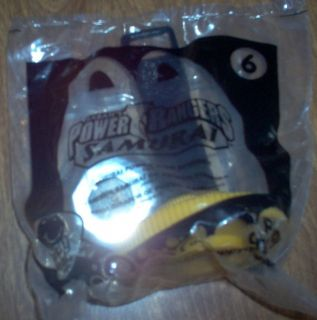 MCDONALDS 2011 POWER RANGERS SAMURAI #6 SAMURAI POWER DISC SPINNER NIP