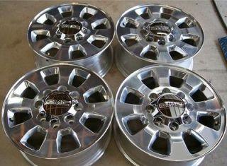 13 GMC Sierra HD 2500 3500 8 Lug 18 OEM Factory Wheels Rims Silverado
