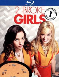 Broke Girls The Complete First Season Blu ray Disc, 2012, 2 Disc Set