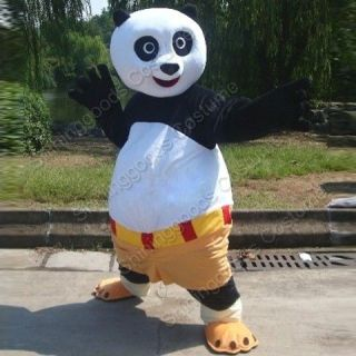 KUNG FU PANDA COSTUME MASCOT ADULT CARTOON COSTUME FANCY DRESS