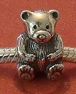 authentic pandora teddy bear bead charm 925 silver d more