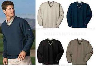 NIKE GOLF NEW Mens V Neck Wind Shirt Jacket WindBreaker Shirt Top