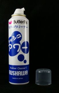butterfly table tennis rubber cleaner rushawa 165 ml from thailand