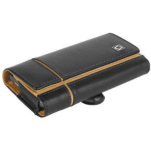 Nokia compatible E7 Verona Leather Case Pouch Holster clip By Cellet