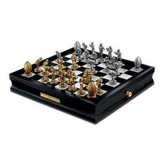 Franklin Mint BRAND NEW IN BOX New York Giants Chess Set w/COA SEALED