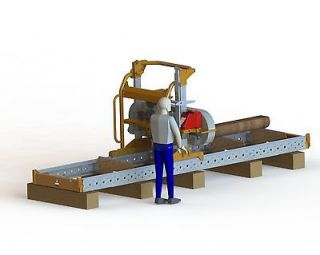 NEW MANUAL BAND SAWMILL (CONVERTIBLE TO HYDRAULIC)   Norwood Sawmills