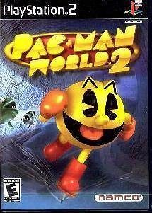 playstation ps2 game pacman pac man world 2 brand new