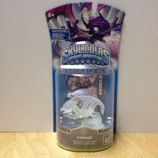 Skylanders Spyros Adventure Ultra RARE Crystal CLEAR Cynder
