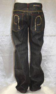 parish raw black gold p jeans
