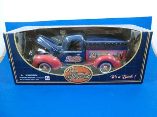 1997 Die Cast Pepsi Cola 1940 Ford Delivery Truck Bank 118 Golden