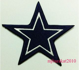 Dallas Cowboys Star Team Emblem Logo embroidered Iron on Patch