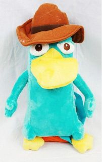licensed phineas and ferb agent p plush backpack bag time
