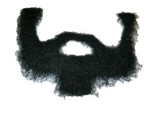 macho man randy savage costume adhesive black beard one day