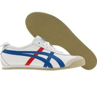 men s asics onitsuka tiger mexico 66 white blue hl202