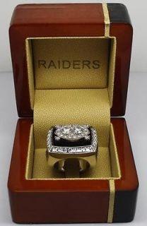 Raiders Owner AL Davis Super Bowl world Championship ring replica