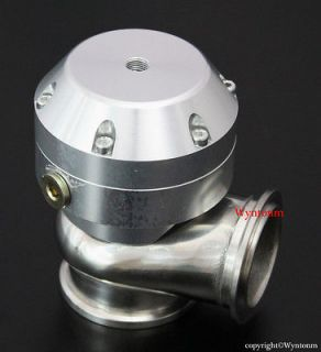 Stainless Steel Sport Compact Wastegate 4 PSI SILVER w/ Dump Pipe