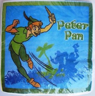 new peter pan 25 beverage napkins party time left $