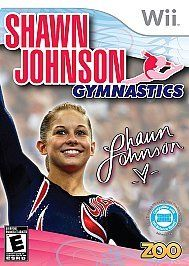 brand new sealed shawn johnson gymnastics wii 2010 a game