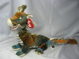 TY Beanie Babies Collection Baby Plush Zodiac Dragon with TY Tag ~ 12