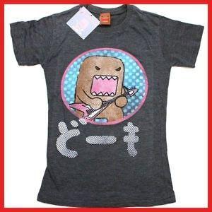 New Authentic Domo Kun Juniors T Shirt Size Large