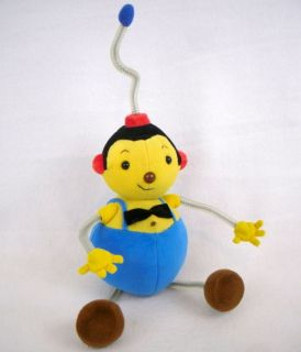 RARE Rolie Polie Olie Dad Plush Stuffed Poseable Doll Applause